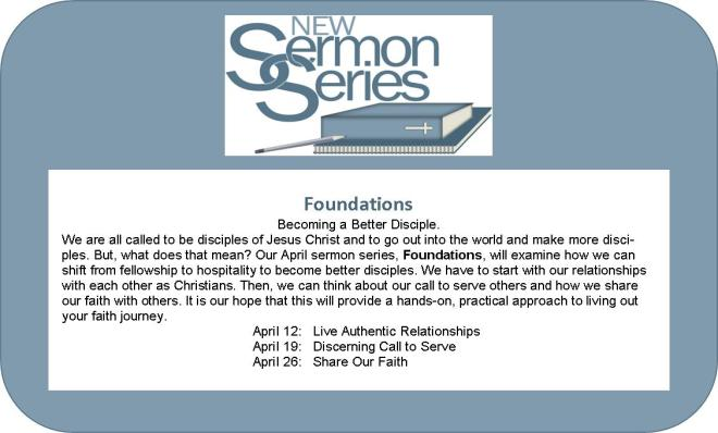 sermon series foundations