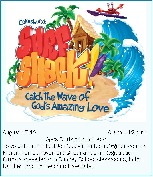 VBS ad july spire